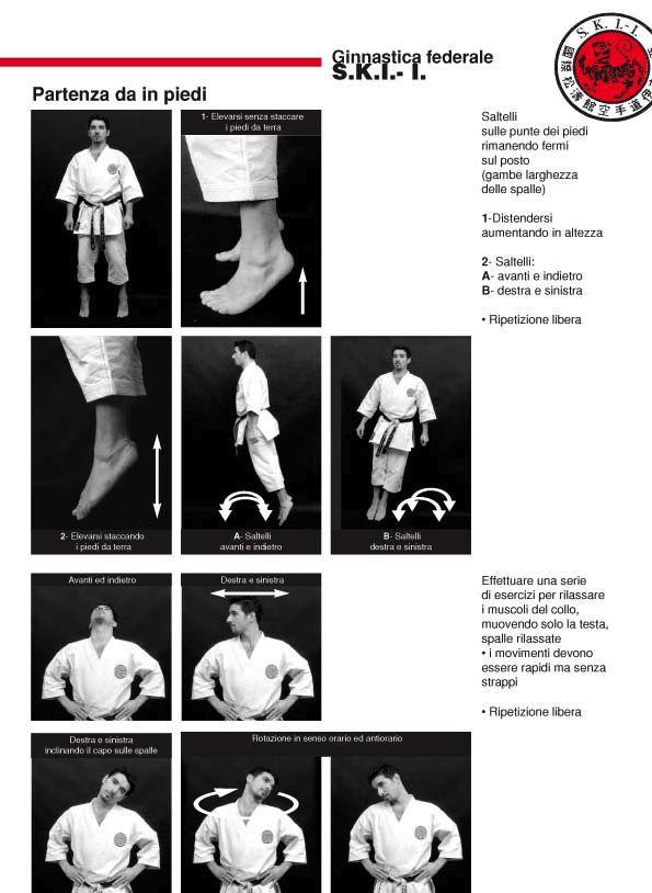Heijo Shin Dojo - Estratto della Ginnastica Federale